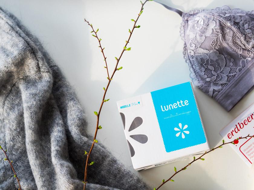 Wäsche für Mamas & Frauenhygiene_Menstruationstasse Lunette