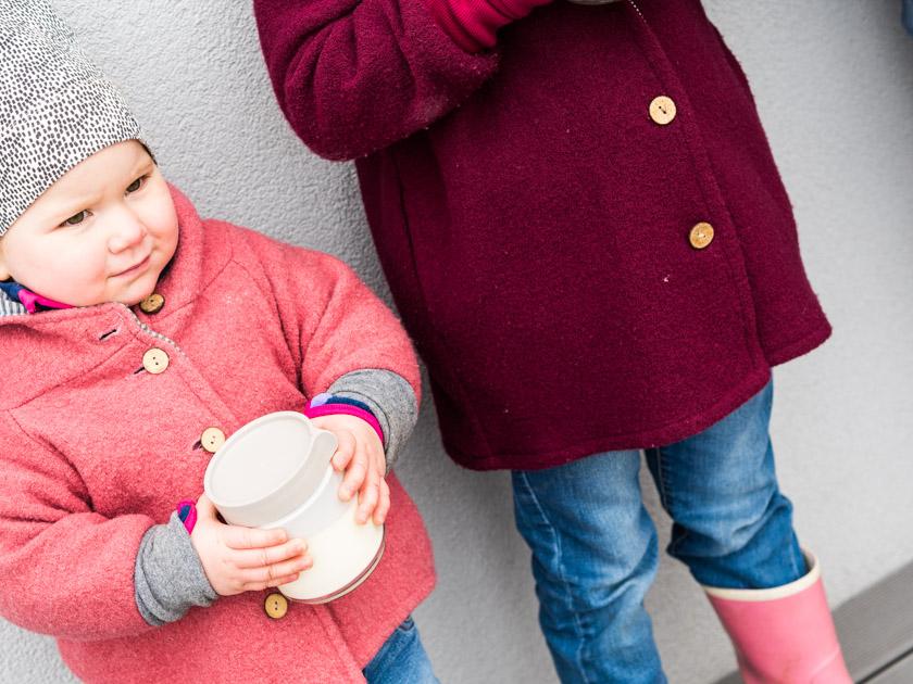 Butter selber machen mit Kindern_Schwestern