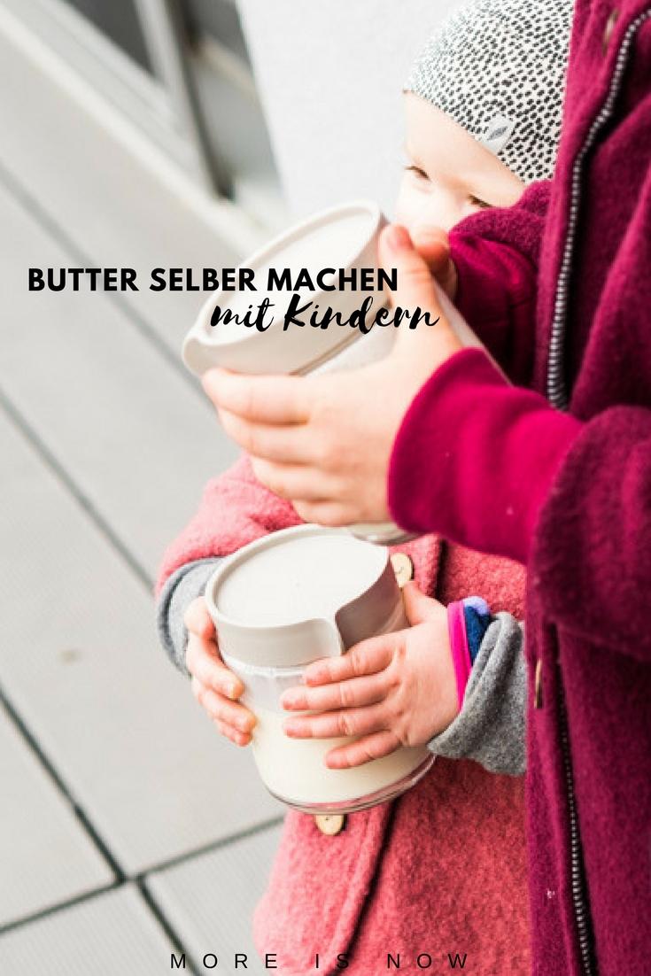 Butter selber machen mit Kindern_shake it baby