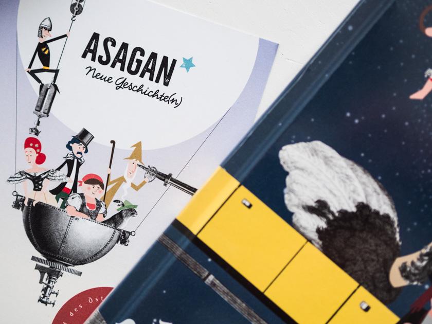 Kinderbuch Asagan_Neue Geschichten