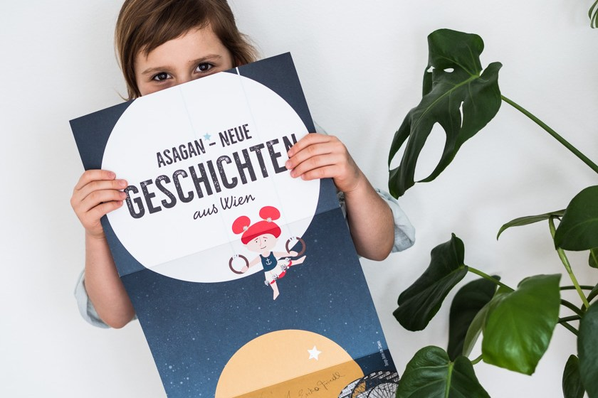 Kinderbuch Asagan_Plakat