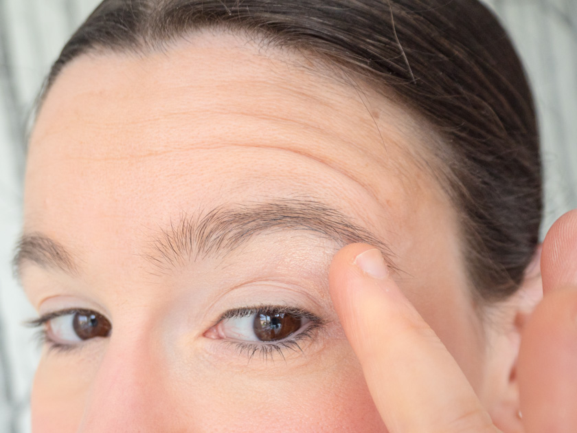 5 Minuten Mama Tages Make up_Lidschatten auftragen