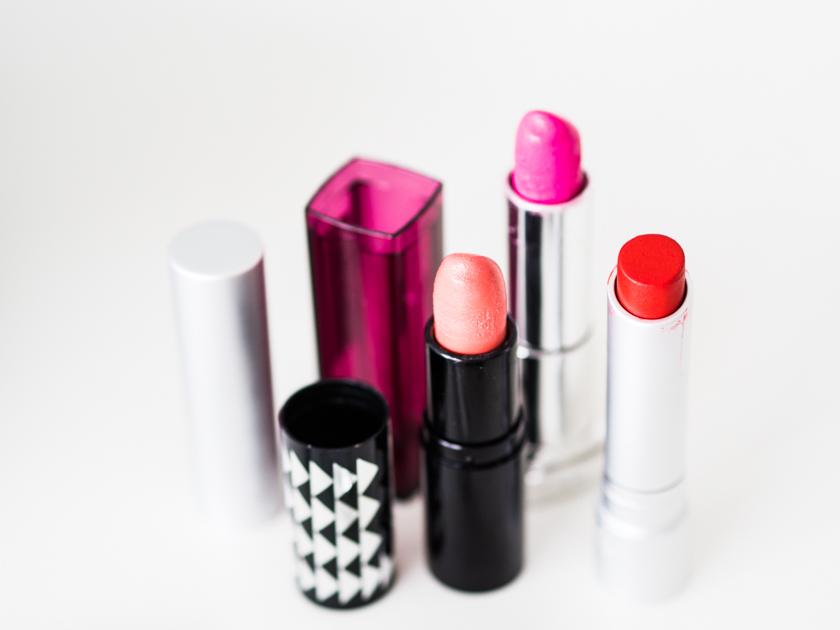 5 Minuten Mama Tages Make up_Lippenstifte