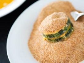Rezept Gefüllte Zucchini Fritters_panieren
