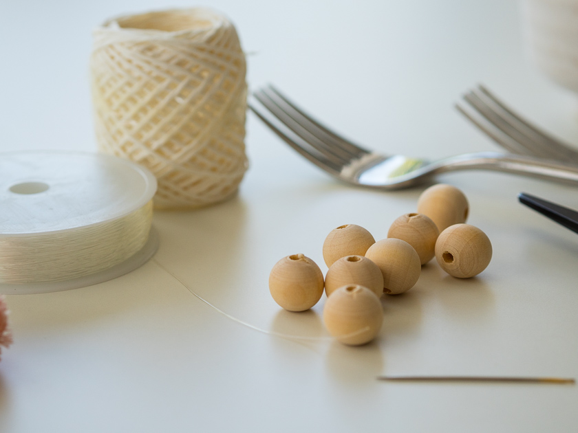 Einfache DIY Pom Pom Ketten_Materialien