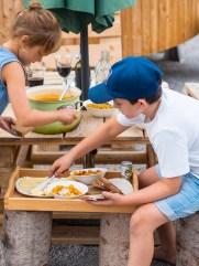 Landlofts von Sonnentor_Essen mit Kindern