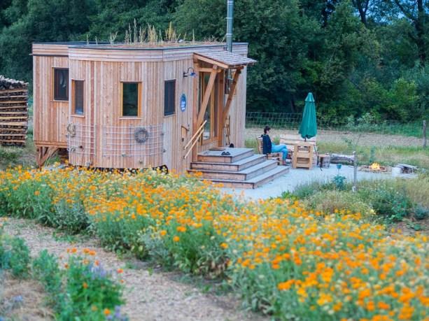 Landlofts von Sonnentor_Übernachten im Kräutergarten