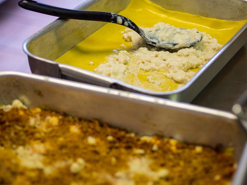 Urlaub am Gardasee mit Kindern_Lasagne Rezept zubereiten