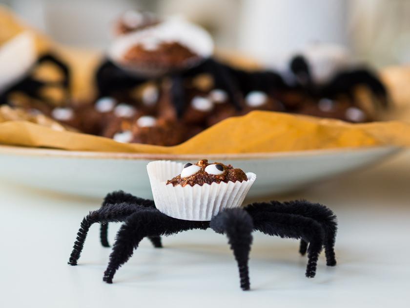 Last Minute Halloween_Spinnen Cookies