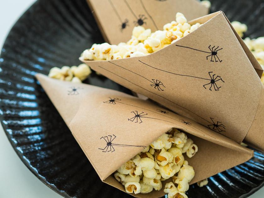 Last Minute Halloween_Spicy Popcorn