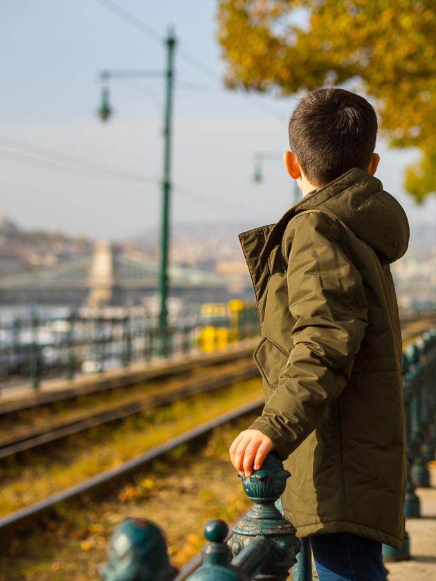 Budapest Guide mit Kindern_Straßenbahn 2er Linie