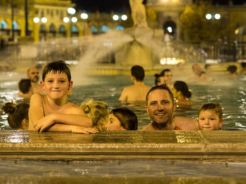 Budapest Guide mit Kindern_Szechenyi Thermalbad