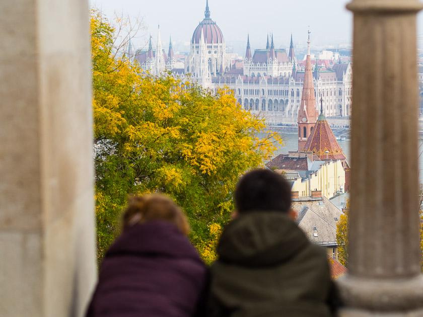Budapest Guide mit Kindern_Ausblick von Fischerbastei