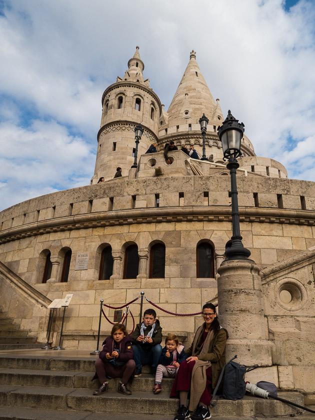 Budapest Guide mit Kindern_Fischerbastei
