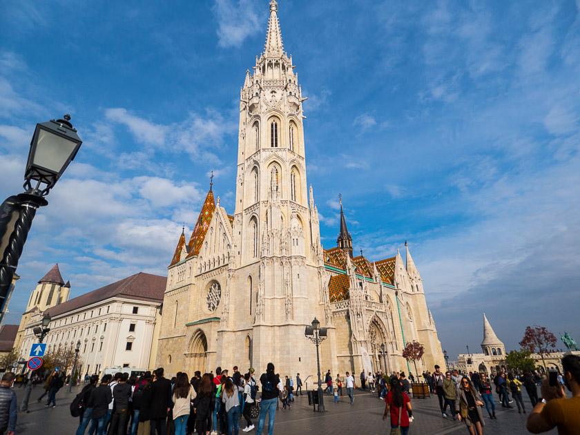 Budapest Guide mit Kindern_Matthias Kirche
