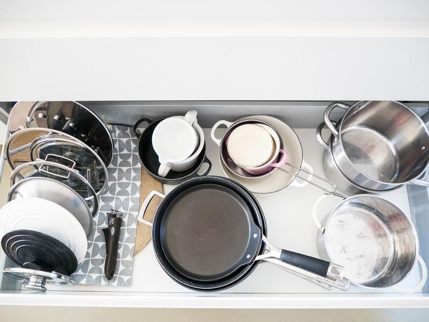 Küchenutensilien für Familien_Töpfe Pfannen