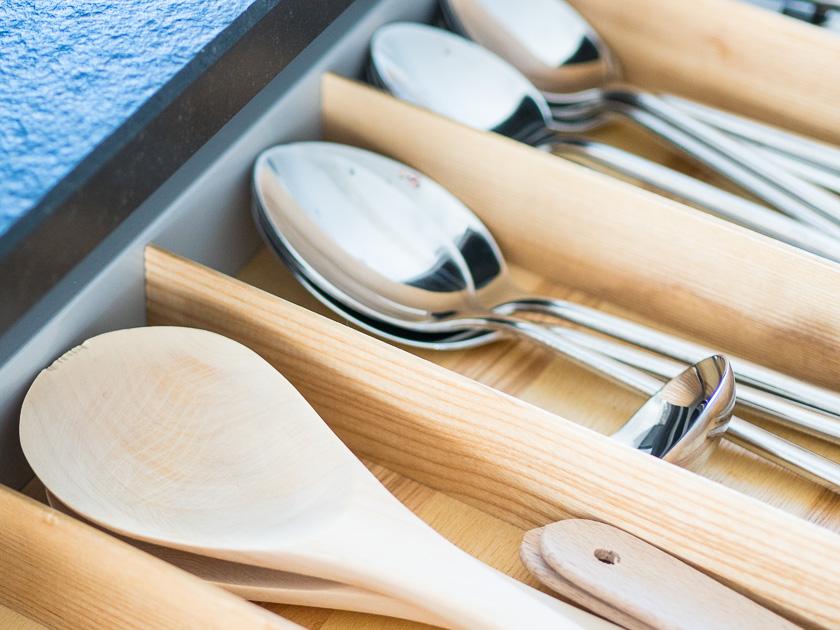 Familien-Küchen-Organisation leicht gemacht_Kochlöffel Holz