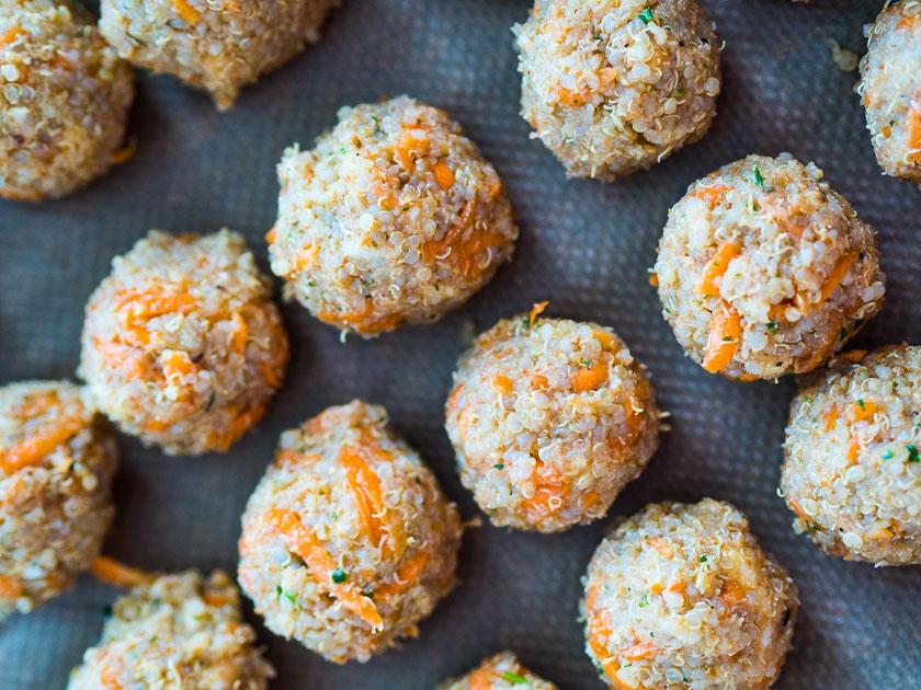 Familien Meal Prep_Rezept Fingerfood Quinoa