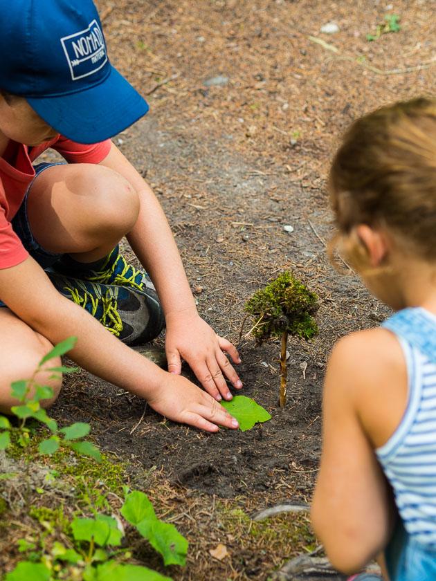 Wildkräuter Familien Wanderung_Kinder
