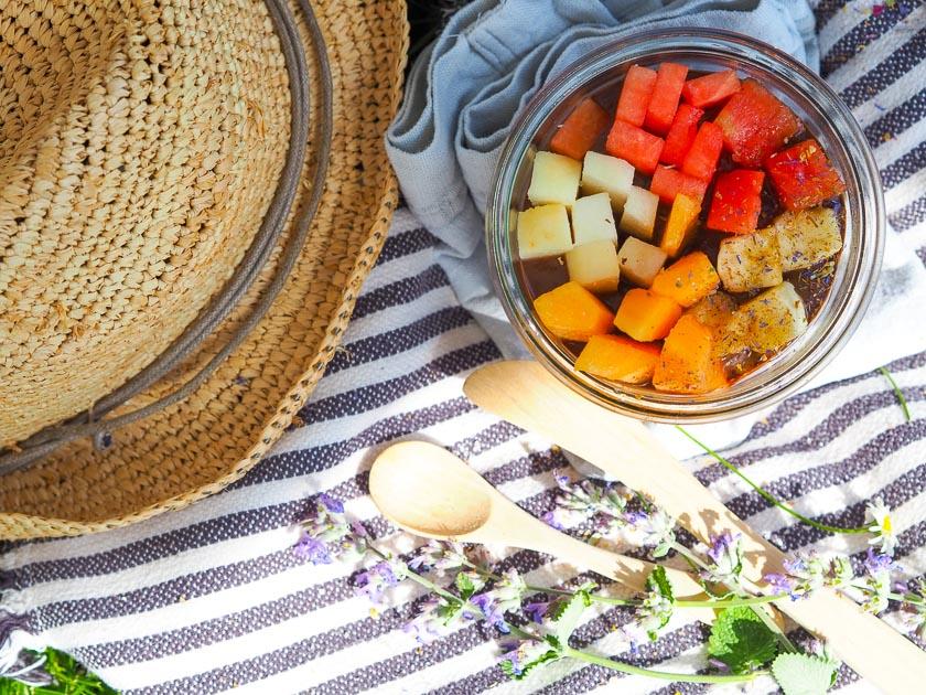 Sommer Rezepte fürs Freibad