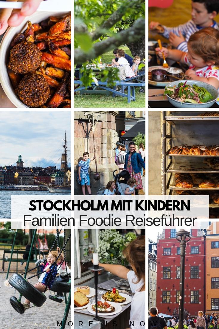 Stockholm mit Kindern Foodies Reiseführer
