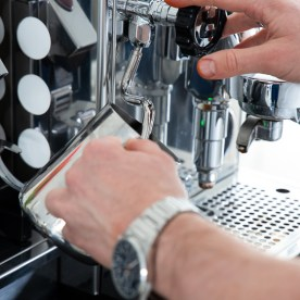 Siebträger Kaffeemaschine-21