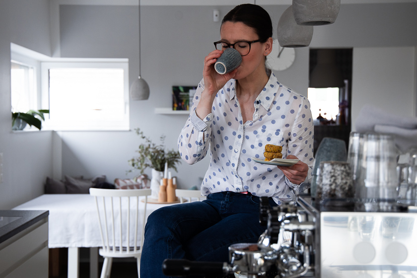 Siebträger Kaffeemaschine Slow Coffee