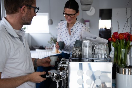 Siebträger Kaffeemaschine-41