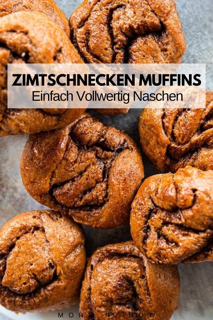 Vokkorn-Zimtschnecken Muffins