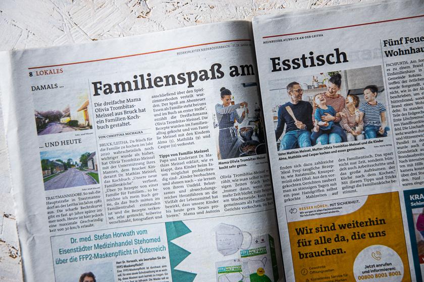 Bezirksblätter Unsere neue Familienküche Kochbuch