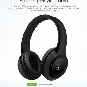 Bluetooth игровая  гарнитура QCY J1  Bluetooth беспроводные наушники  3D стерео 40 часов ОРИГИНАЛ