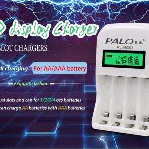 Зарядное устройство  PALO для Ni-MH Ni-Cd  1 - 4 х AA или  AAA  C907W