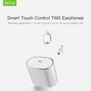 QCY T1pro TWS 2019 Беспроводные наушники  версия Bluetooth шумоподавление  750 мАч ОРИГИНАЛ