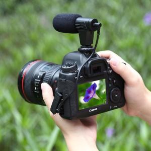 PULUZ PU3017 профессиональный микрофон для фото и видео камер микрофон для смартфона