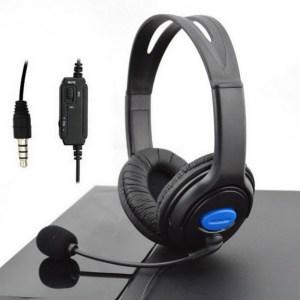 EDAL наушники с микрофоном для PS4 игровая гарнитура проводные наушники с микрофоном 3,5 мм