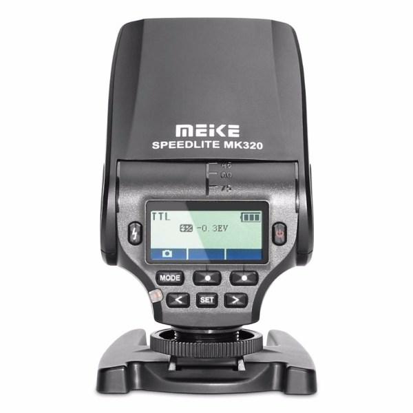 Вспышка Meike MK320S TTL для sony беззеркальных камер A7 A7R A7S A7II A77II A6000 NEX-6 A58 A99 RX1 RX1R RX10
