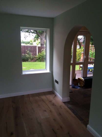Conversion to extra Living Room