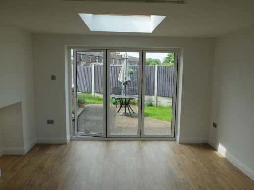 double garage conversion urmston