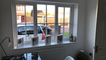 Warrington Garage Conversion Office
