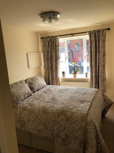 Single Garage Conversion in Radcliffe Bedroom