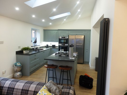 House Extension and Wren Kitchen in Warrington