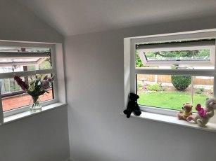 Chorley Garage Conversion Windows