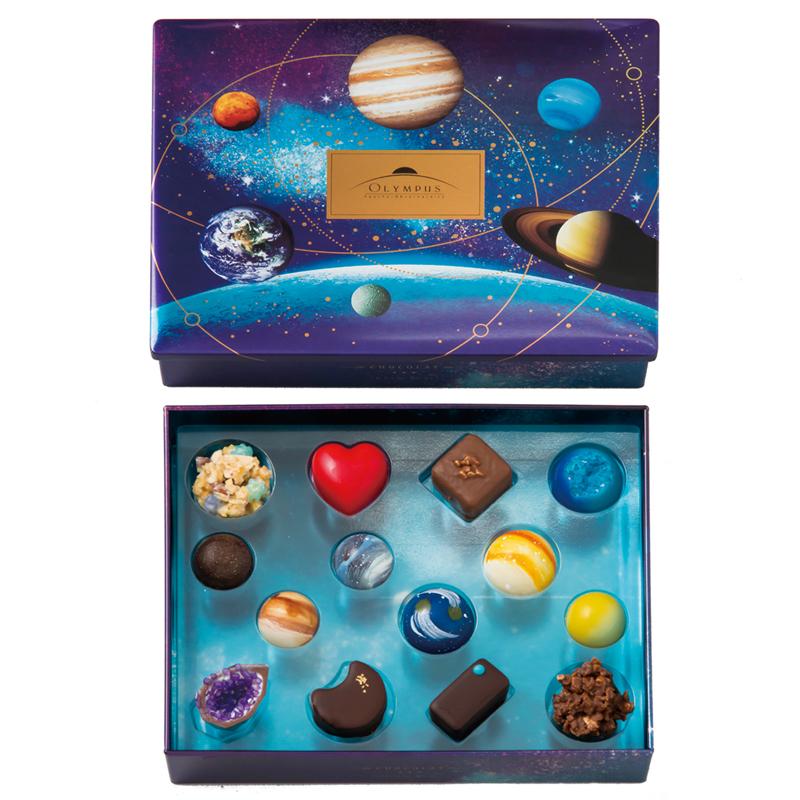 フーシェオリンポスの惑星チョコレートはどこで買えるの?