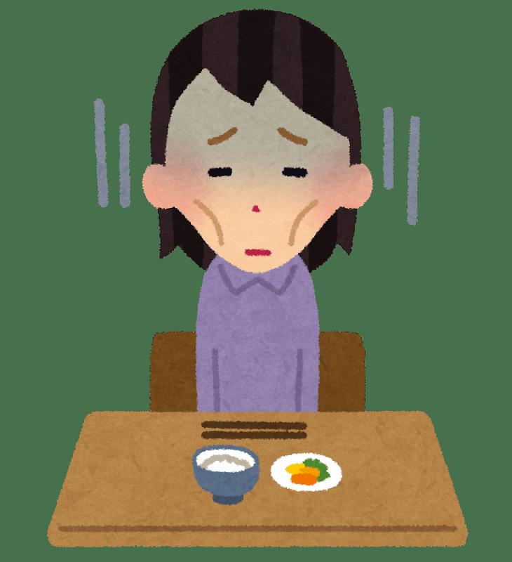 会食恐怖症ってなに?人前で食事ができなくなる原因とは