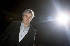 Alvaro Fernández Armero. Juan Gordon, Alvaro Fernández Armero y el reparto. Fotos de Nacho López (eOne Films Spain)