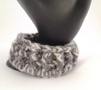 bracciale crochet lana 1