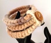 bracciale crochet lana 9