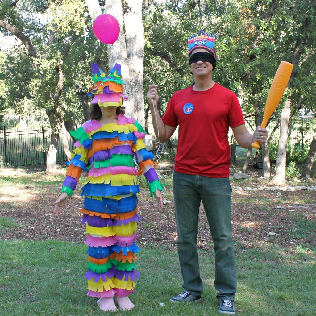 Quick inexpensive diy couples halloween costumes morena for Quick halloween costumes for toddlers