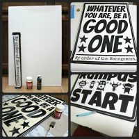 Make Your Own Poster Wall Art - Morena's Corner