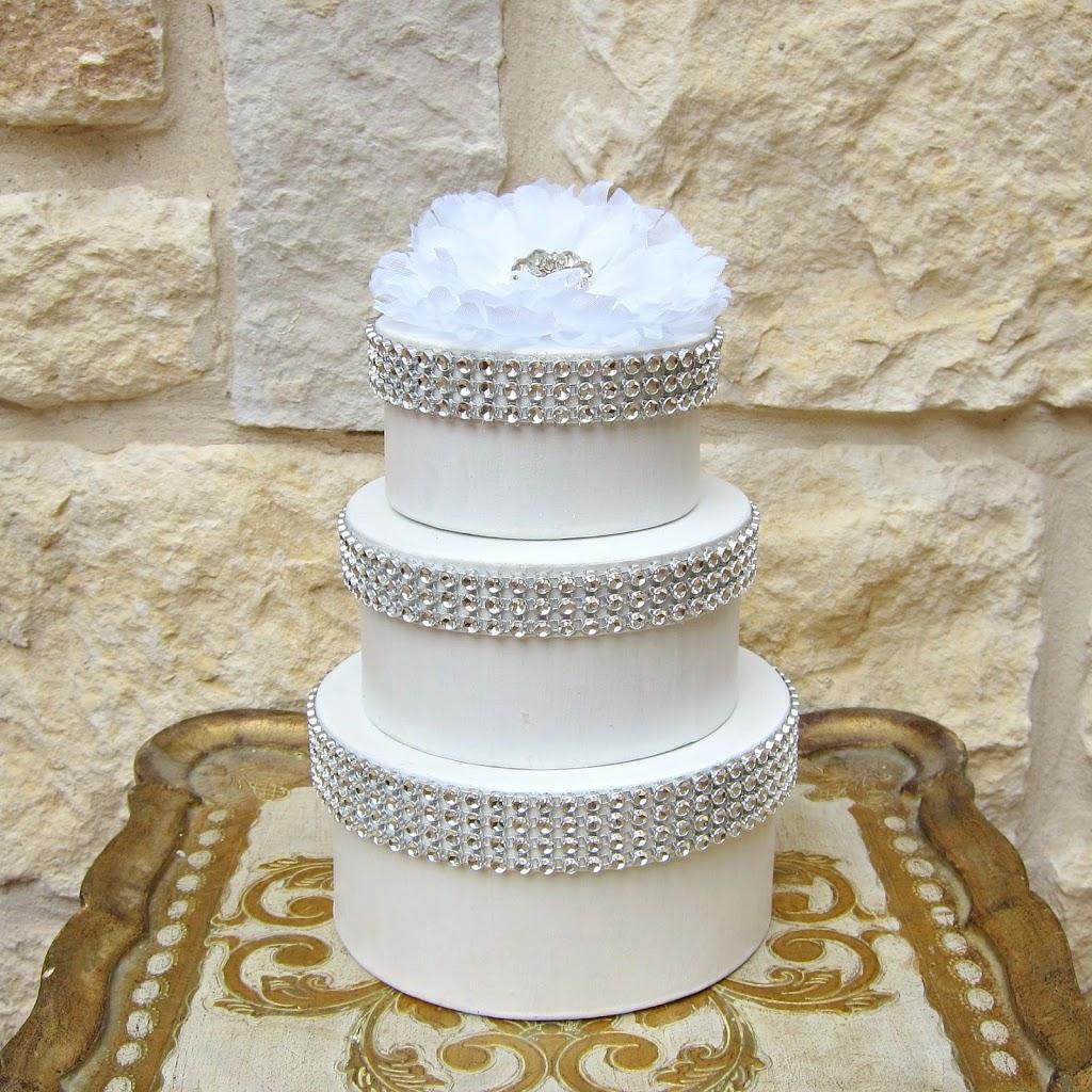 Wedding Cake Favor Boxes - Morena\'s Corner
